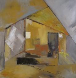 Aux quatre vents (2011) 40 x 40