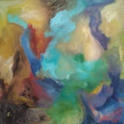 Comme dans un songe (2014) 60 x 60