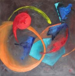 Conversations (2011) 40 x 40