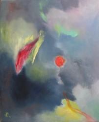 Echappée dans l'inconnu (2014) 60 x 50
