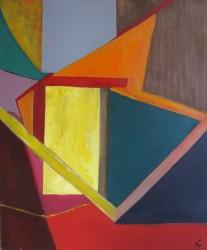 Fenêtre sur toit (2012) 61 x 50