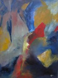 Mélodie en sous-bois (2010) 79 x 60