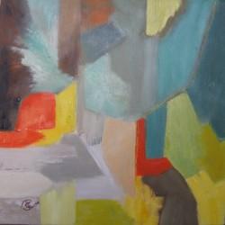 Variations en gris- Parcours des gris   (2014) 30 x 30