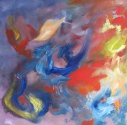 Vent d'Asie   (2013) 50 x 50